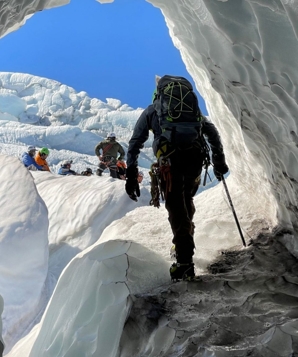 Progresión en Glaciar